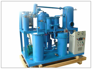 TYA-P PLC Automatic Vacuum Lube Oil Treatment Machine