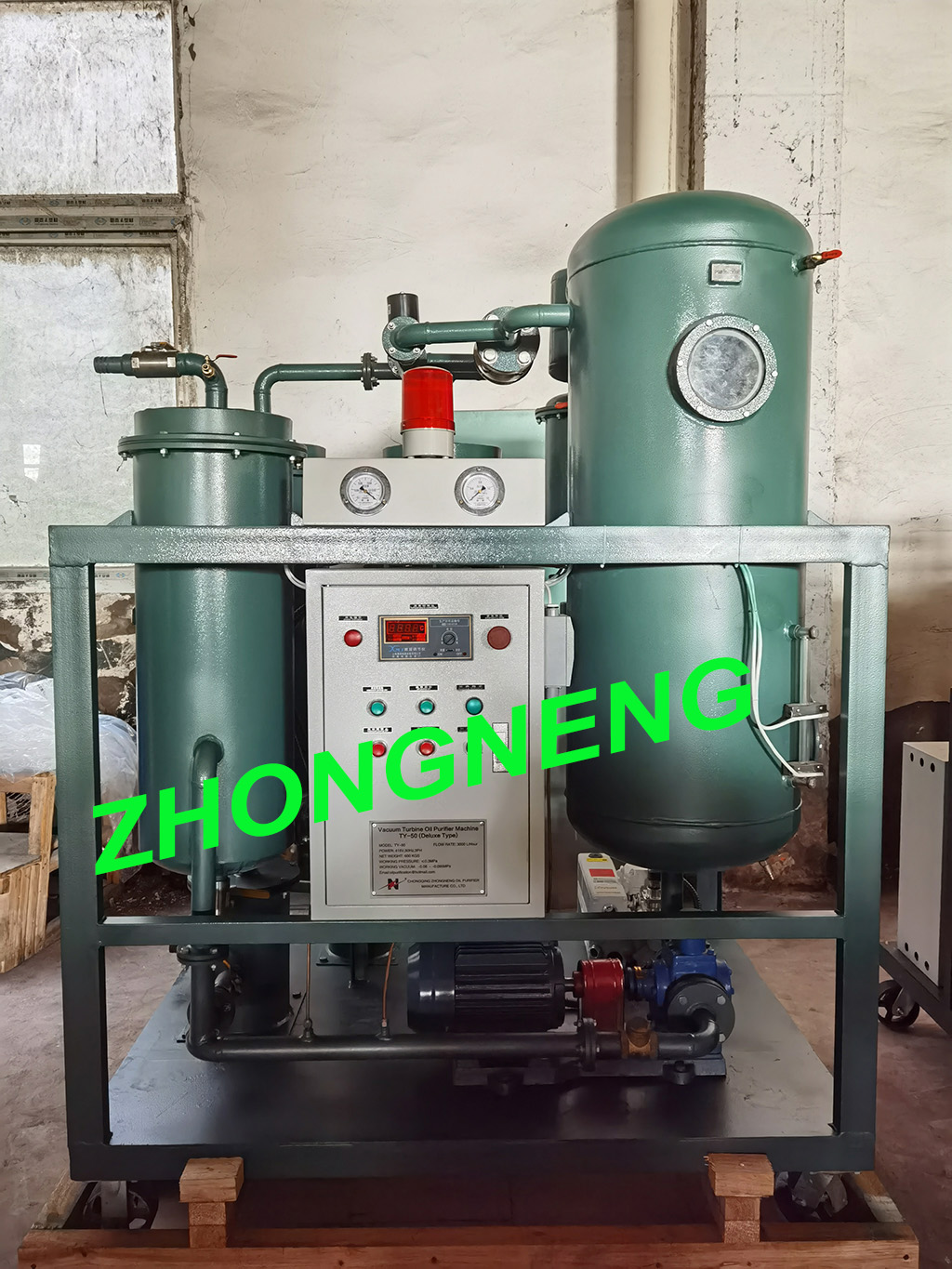TY-50 Turbine Oil Purifier Machine Is Delivered