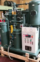 TYA Vacuum Lubricating Oil Purifier Machine Successfully Running Onsite