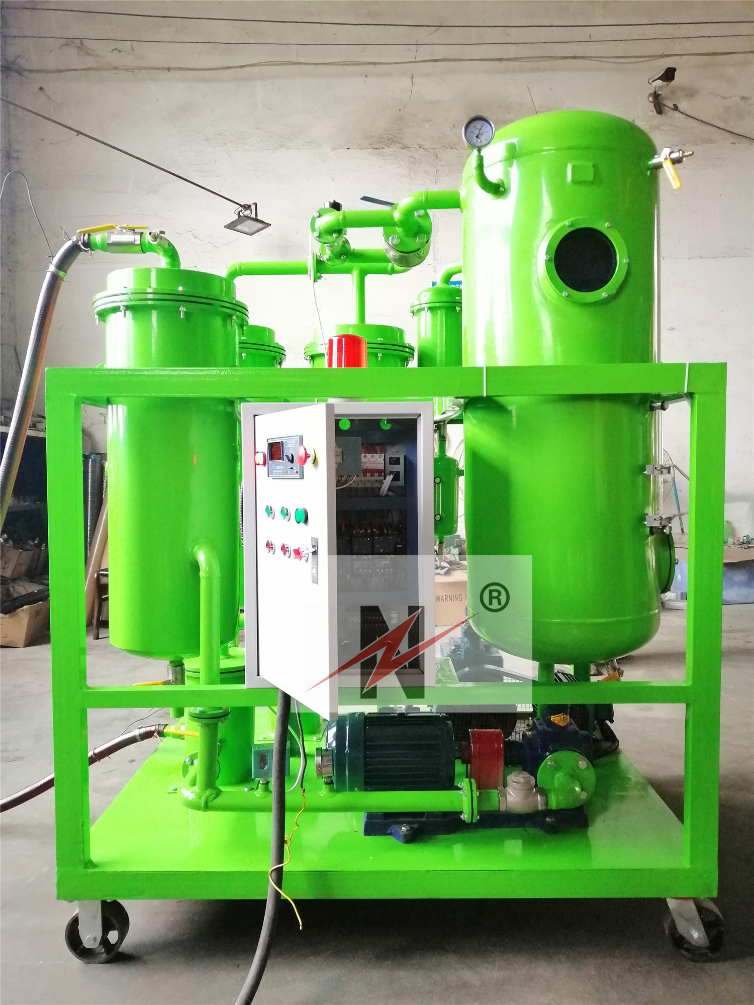 Customized 20GPM turbine oil purifier get ready to ship