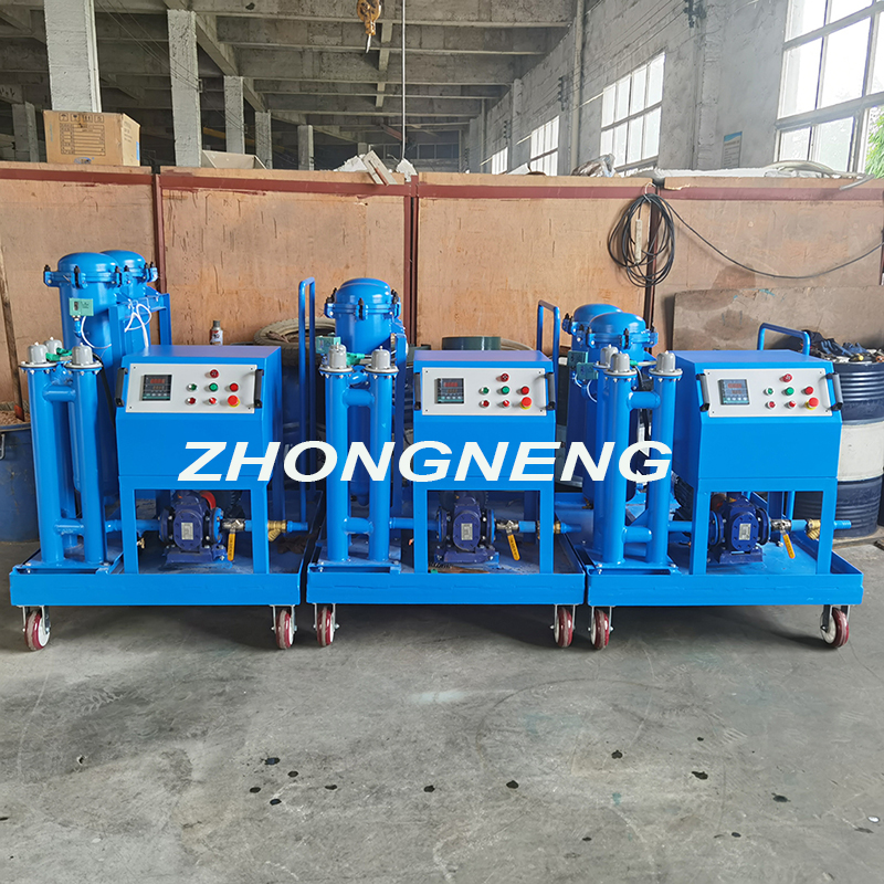 The Customized Mobile Gear Oil Filtering and Filling Machine is Shipped.